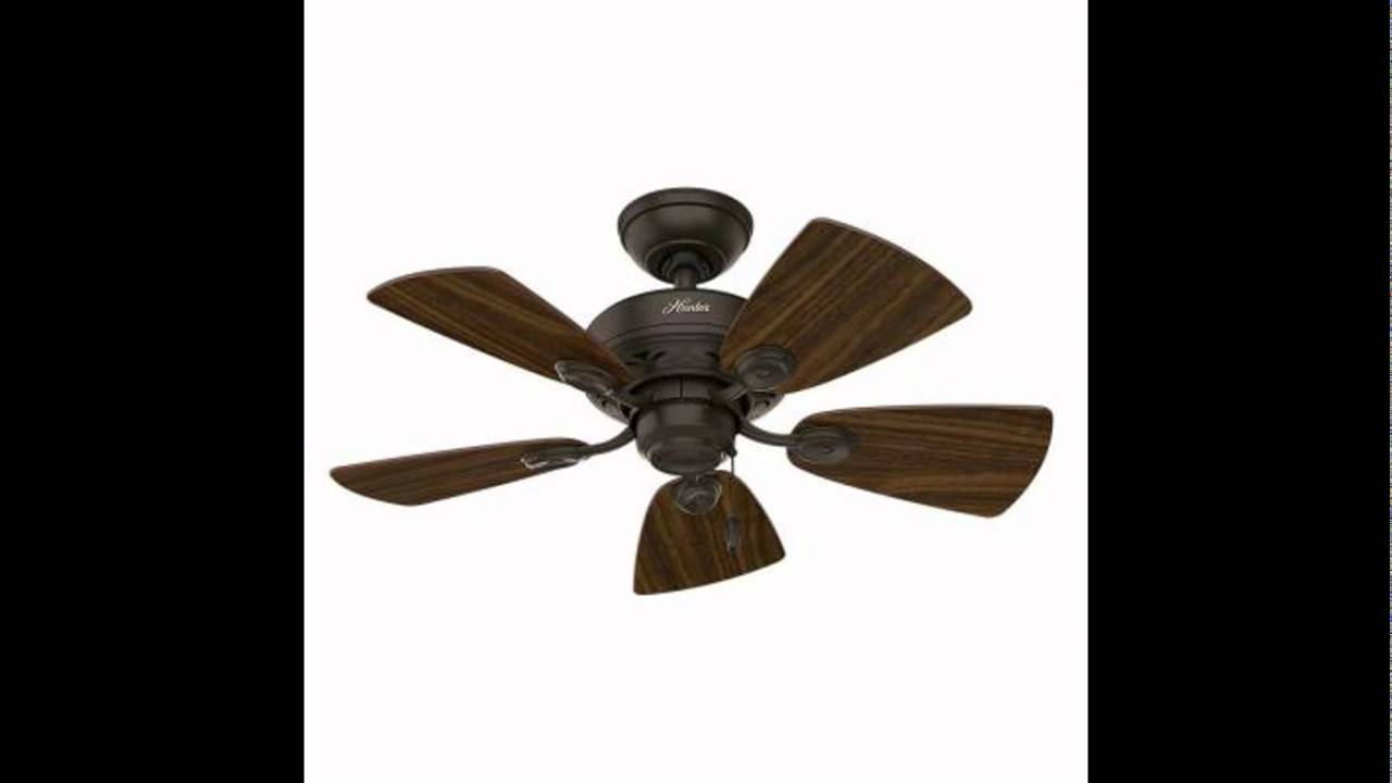 Hunter Fan Company 52090 Watson 34 Inch New Bronze Ceiling