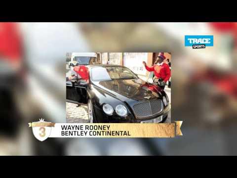 Les voitures de Wayne Rooney