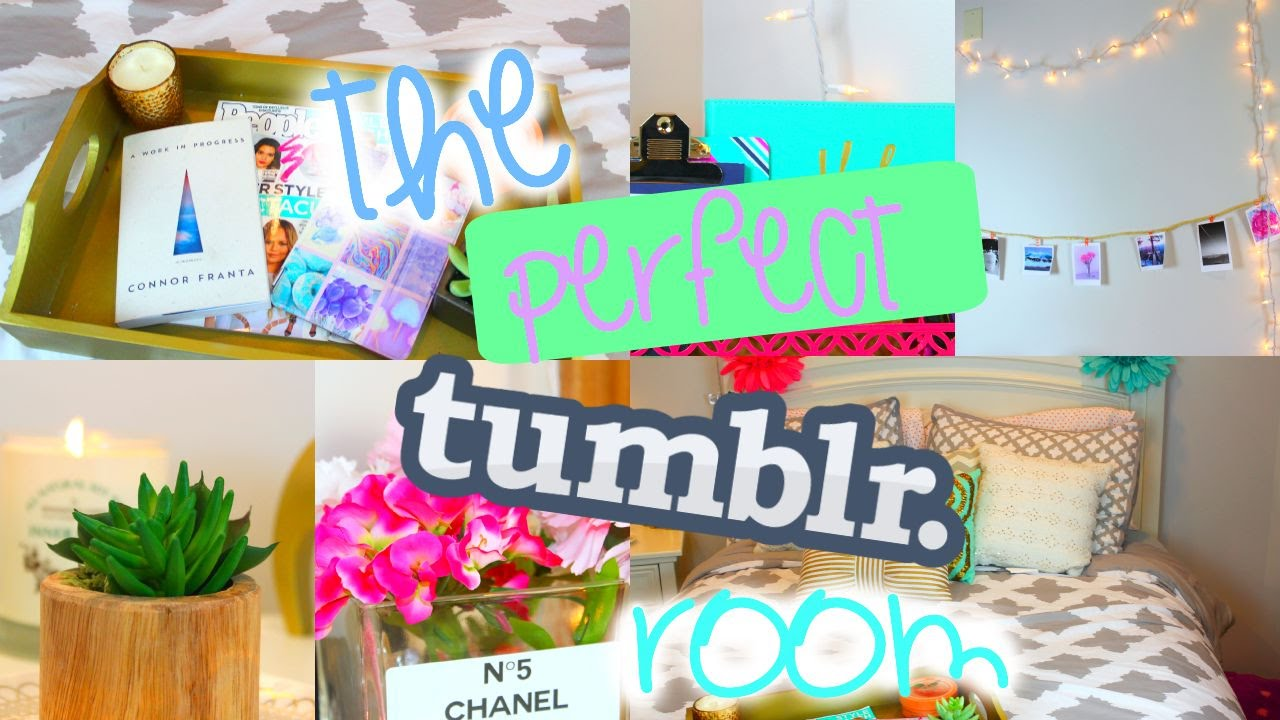 How To Have A Tumblr Room