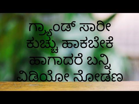 Avani new saree kuchu design