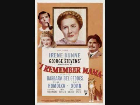 I Remember Mama - Lullaby