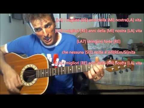 I Migliori Anni Della Nostra Vita COVER by Mandu Acoustic Version Accordi E Testi