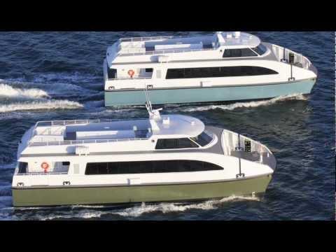 Catamaran Passenger Ferry by All American Marine
