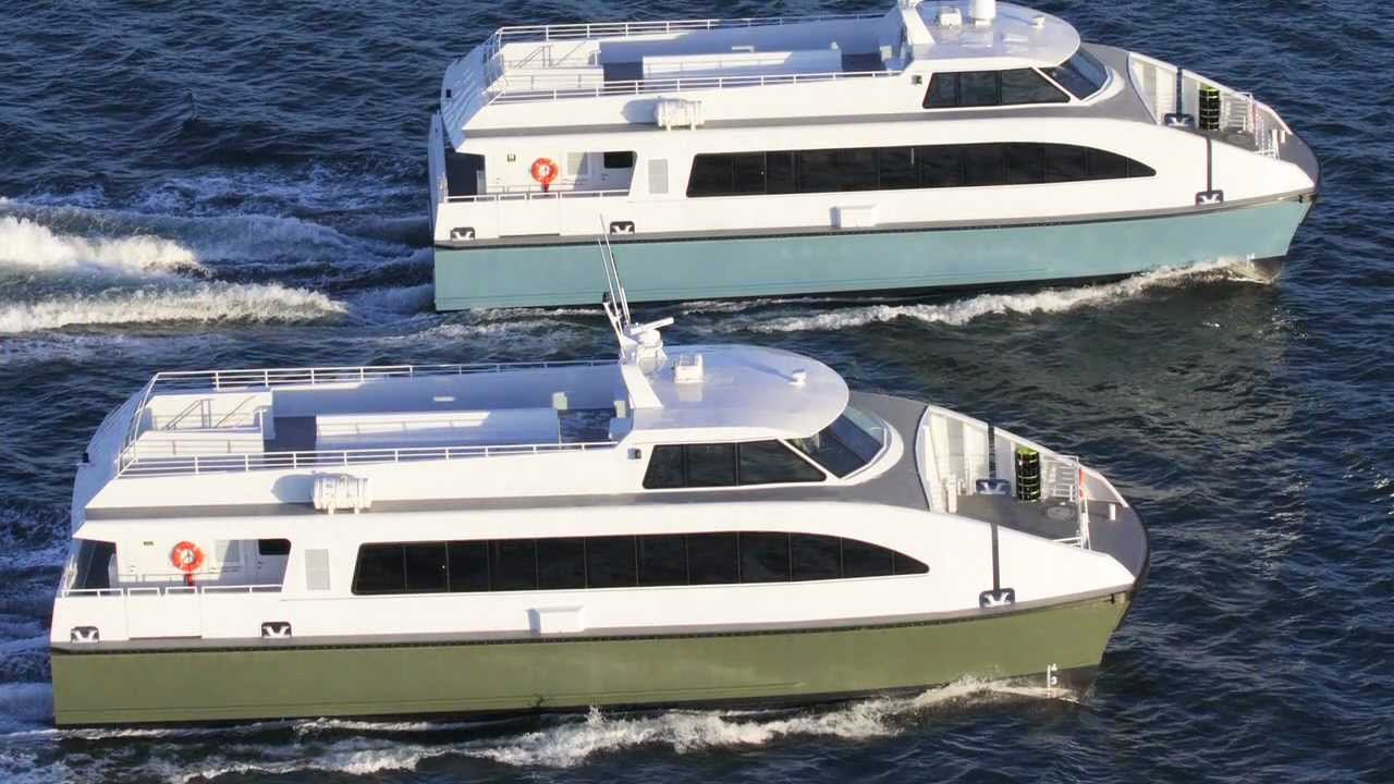 Catamaran Passenger Ferry by All American Marine