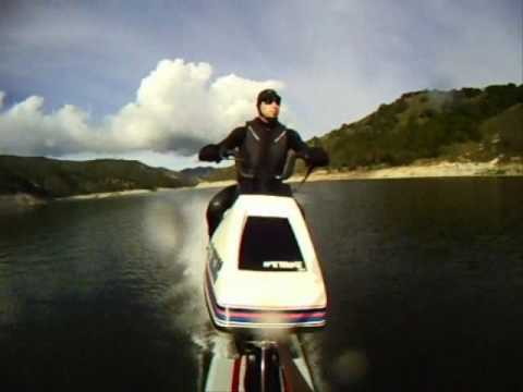 Wetbike Ride Front Ski Point Of View Youtube