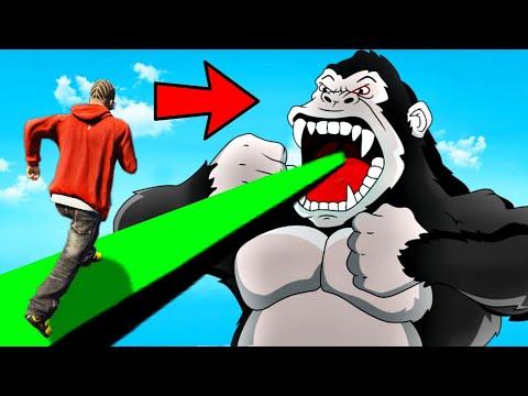 KING KONG Kidnapped FRANKLIN In GTA 5! |
