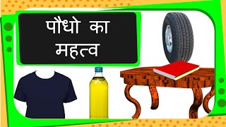 Science - Uses of Plants - Hindi