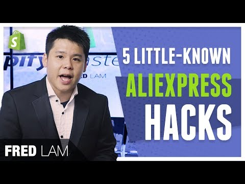 5 AliExpress Secret Hacks To Boost Your Shopify Business thumbnail