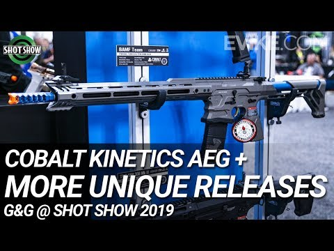 Cobalt Kinetics AEG + More Unique Releases from G&G - Shot Show 2019 Mp3
