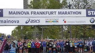 START ZWEITER STARTBLOCK Mainova Frankfurt Marathon 2017 #Marathon #FrankfurtMarathon