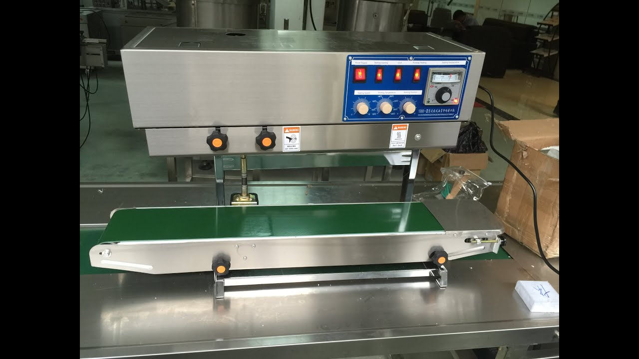 Charming Tabletop Vertical Band Sealing Machine Plastic Bag Band Sealer Equipment