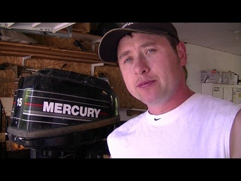 How To Change The Lower Unit Gear Oil In An Outboard Motor