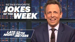 Seth's FavoriteJokesoftheWeek: Andrew Yang Drops Out, Hookers for Jesus
