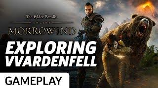 Exploring Vvardenfell In The Elder Scrolls Online: Morrowind Gameplay