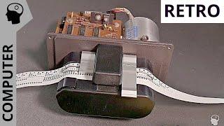Retro Datenspeicher: Facit 4070 Lochstreifenstanzer, antikes ROM und RAM und mehr so Zeugs.