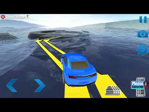 99 Impossible Tracks Car Stunt / Impossible Car Games / Android Gameplay Video