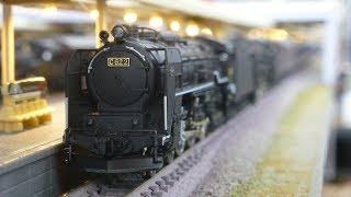 鉄道模型(Nゲージ):アトリエminamo vol.148:C62 + 旧型客車 急行「すずらん」