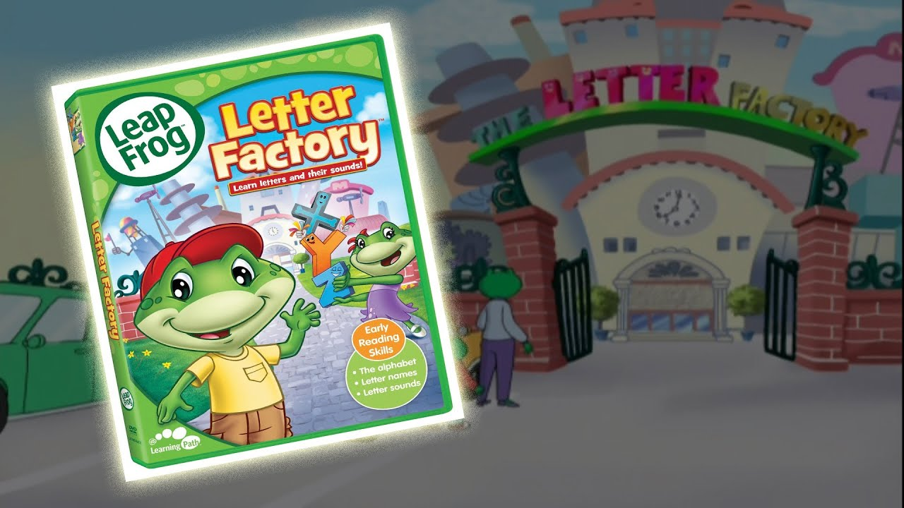 Toy of the day leap frog letter factory youtube for Leapfrog three letter words