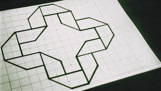 Geometric studies - 3D folding
