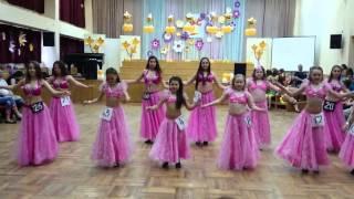 """Детский коллектив восточного танца """"Миндаль"""""""