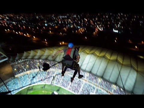 Epic Tandem BASE Jump in Durban, South Africa