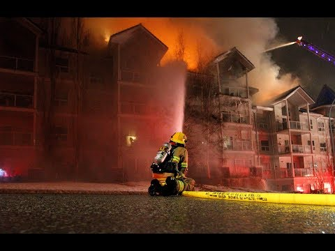 More Than 100 Residents Forced To Evacuate As Fire Rips Through Roof Of Condo Complex