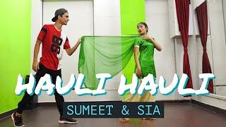 HAULI HAULI : De De Pyaar De | Sumeet & Sia | Bollywood Dance Choreography | Bhangra |Ajay devgn