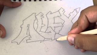 "Graffiti name""ALEX"" (Speed up)"