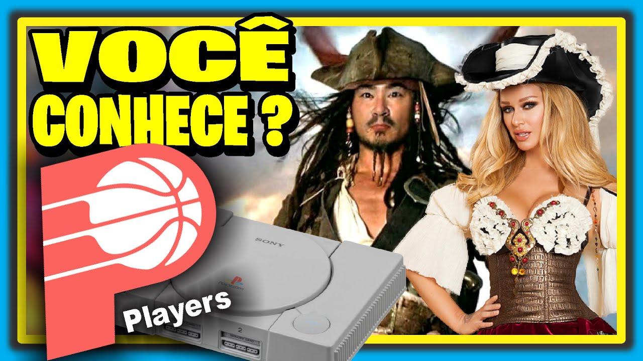 A P1RATARIA ajudou o Playstation ? Você Conhece a Players ? Por que os CDs de PS1 são Pretos ?