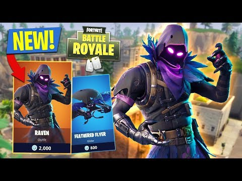 NEW UPDATE!! *LEGENDARY RAVEN SKIN*  13,500+ KILLS  719+ WINS Fortnite Battle Royale