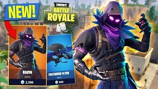 ¡NUEVA ACTUALIZACIONES! *PIEL DE RAVEN LEGENDARIO* // 13,500+ KILLS // 719+ WINS (Fortnite Battle Royale)
