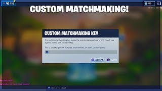 OCE SCRIMS FORTNITE CUSTOM MATCHMAKING! PLAYING AVEC SUBS! (CODE IS yeet)