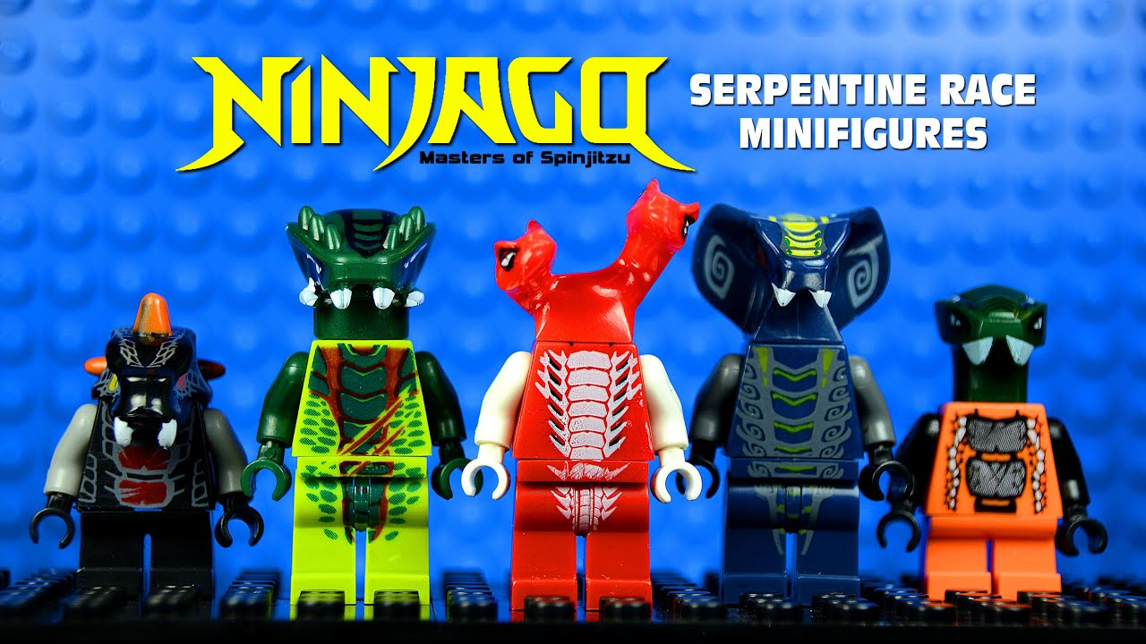 Lego Ninjago Masters Of Spinjitzu Vs Serpentine Race