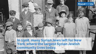 Jewish Persecution in Syria