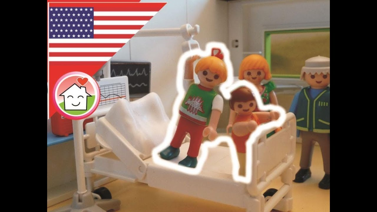 Luxusvilla Playmobil Playmobil Movie At The Hospital - The Hauser Family - Film