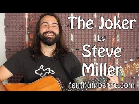 The Joker - Steve Miller Band - Easy Acoustic Guitar Tutorial