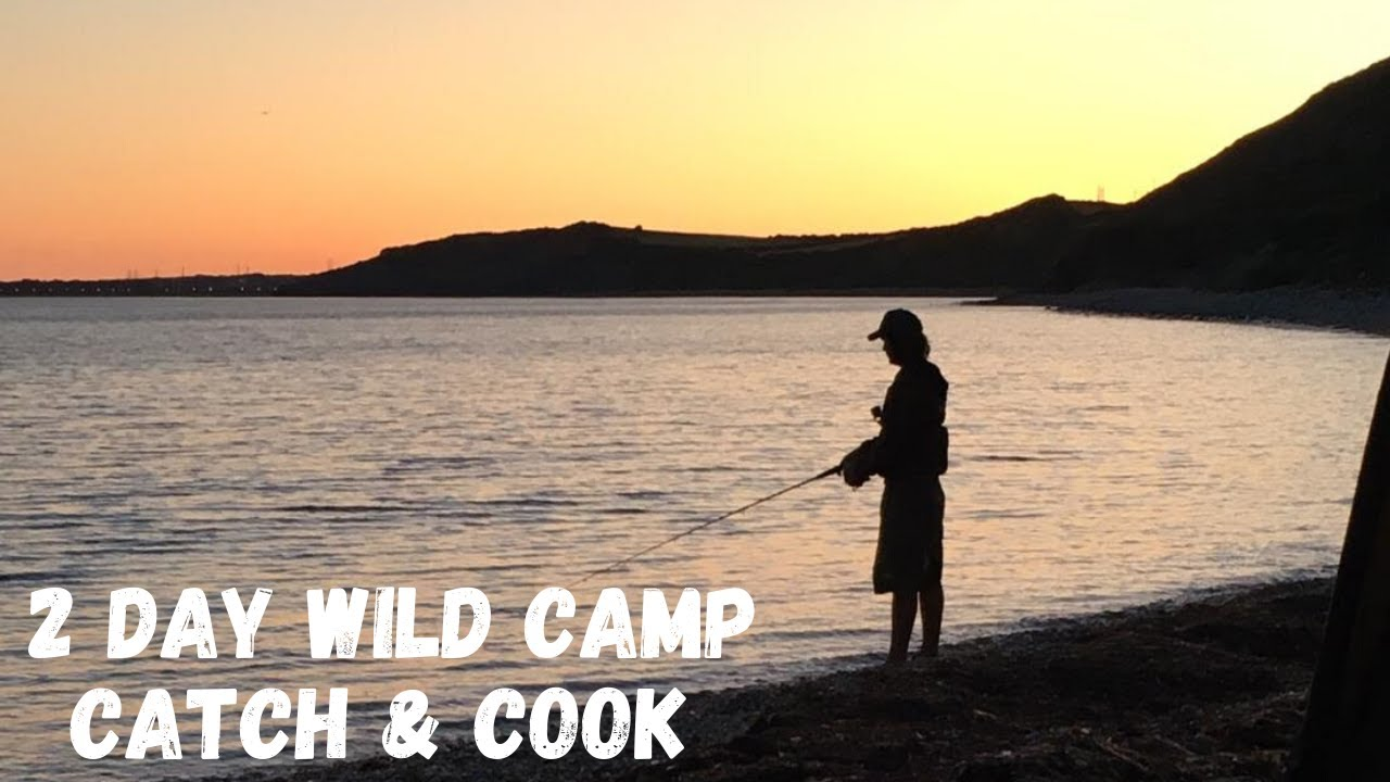 2 DAY WILD COASTAL CAMPING - Delicious Free Food - Lobsters - Prawns - Crabs - CATCH & COOK