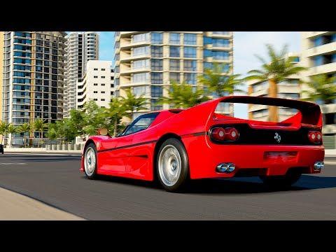 Forza Horizon 3 / Ferrari F50 / 3000 Bhp !