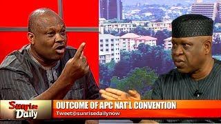 APC Convention: Ogboru, Omo-Agege Do Not Respect Constituted Authority - Ortega  Sunrise Daily 