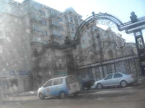 Reporting from 哈爾濱 (Harbin, China).Morning after night club: Den, Ksu, Anya ))