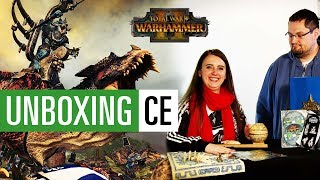 Serpent God Edition Unboxing - Total War: Warhammer 2