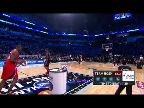 Team Bosh Wins The Degree Shooting Stars Competition for the Third Straight Year