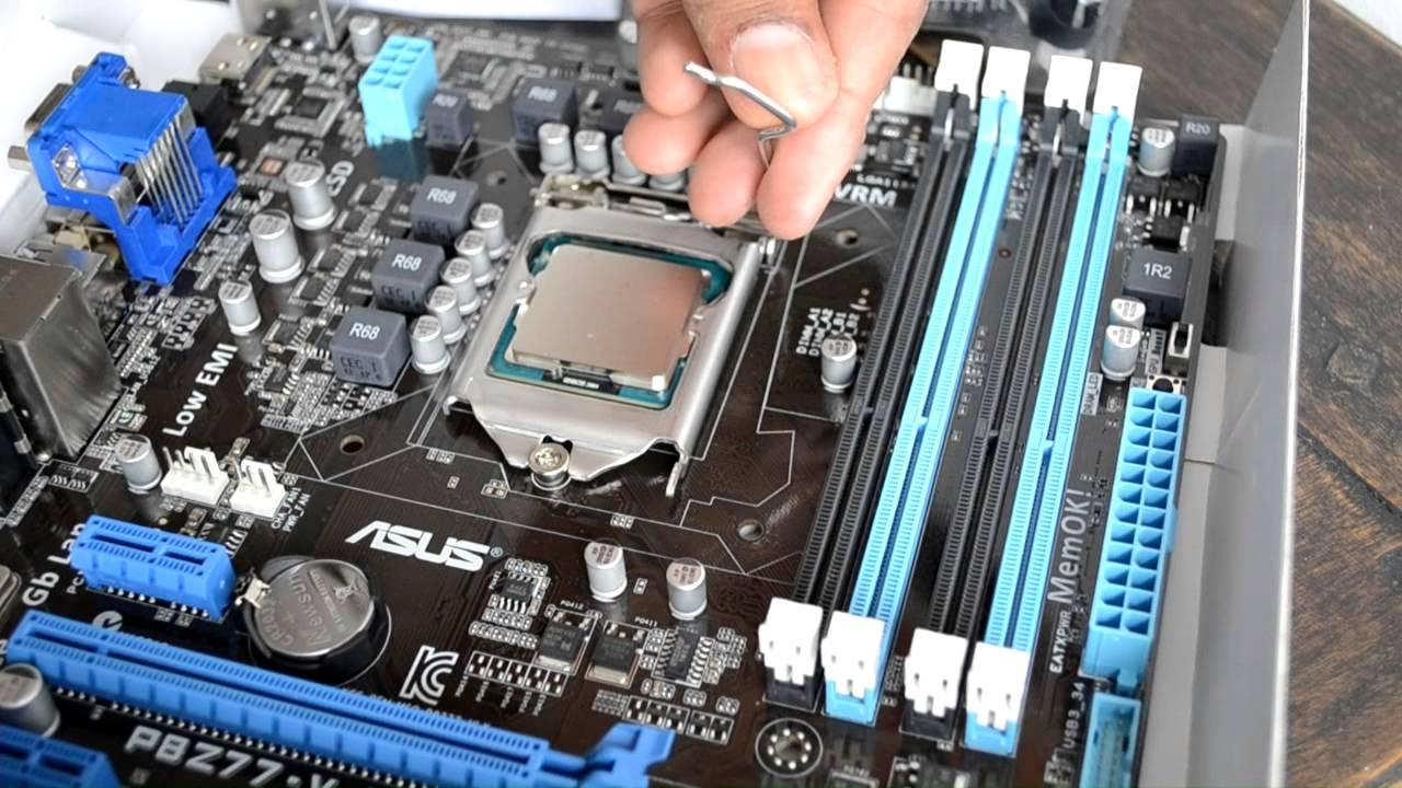 Tutorial Como Instalar Un Procesador Intel Core Tercera