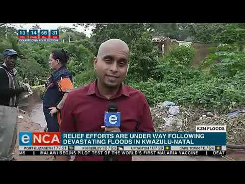 KZN flood update