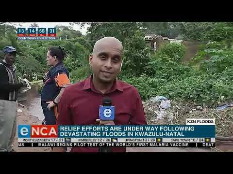 KZN flood update