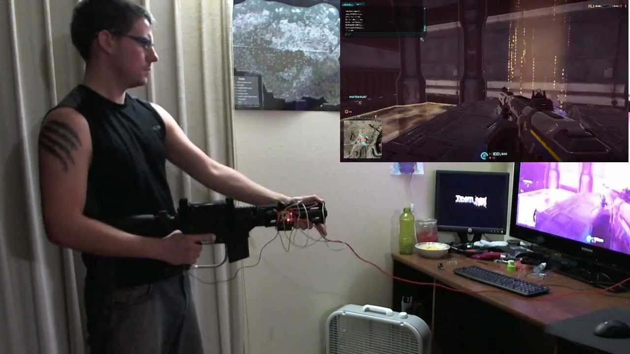 Motion Controlled Rifle - Controller for PC/Console