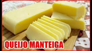 COMO FAZER QUEIJO MANTEIGA (USANDO AMIDO DE MILHO!) [ Pãozinho com margarina nunca mais kk ]