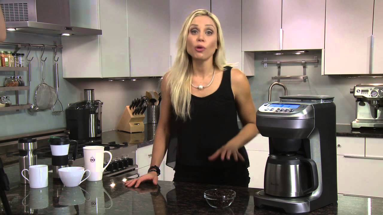 Breville You Brew Thermal Coffee Maker With Built In Grinder At Bed Bath Beyond
