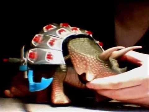 Dino Riders Torosaurus Toy Review Part 2