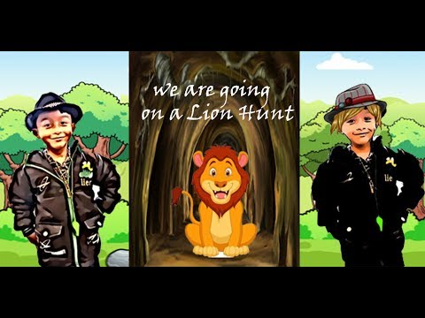 We Are Going On A Lion Hunt | Animal Story For Kids | Kids Rhymes